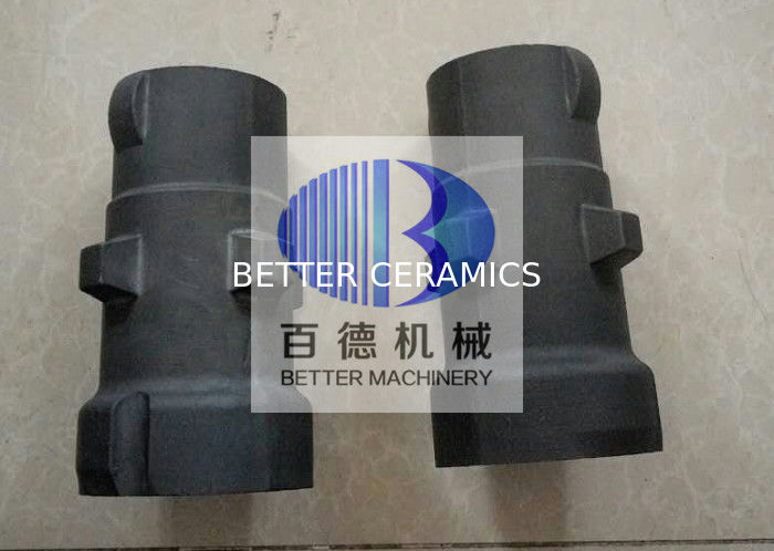 High Strength Silicon Carbide Pipe / Silicon Carbide Tube SiSiC Material
