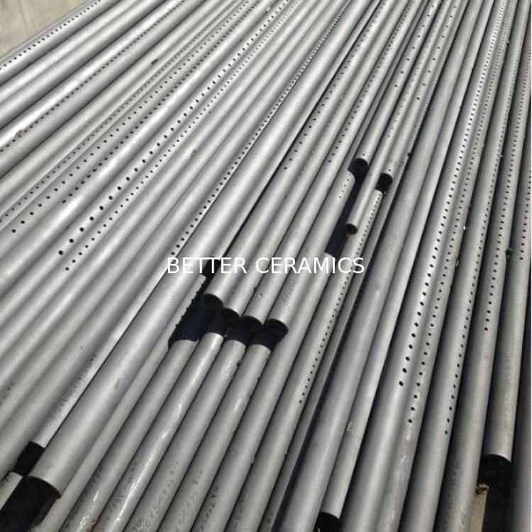 Reaction Bonded Silicon Carbide Pipe Sisic Cooling Air Pipe With Longlife